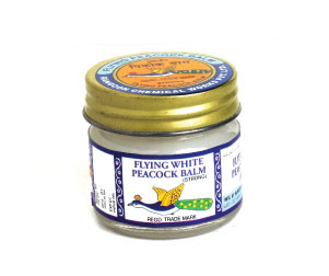 Flying white peacock balm is the pain reliever balm formulated by Rangoon Chemicals. You can use it for toothache, muscular pain, insect bites, etc